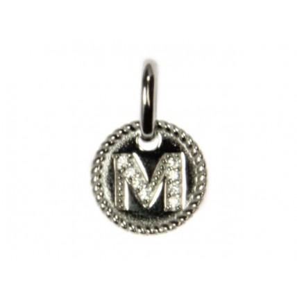 M Alphabet Pendant