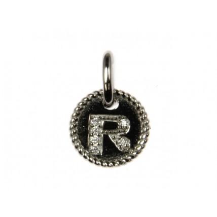 R Alphabet Pendant
